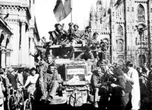 Befreiung Mailands am 25. April 1945