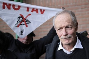 Erri De Luca gegen die Hochgeschwindigkeitsstrecke TAV nach Lyon