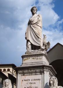 Dante Denkmal Santa Croce