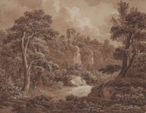 Johann Sebastian Bach: Arkadische Landschaft (1777)