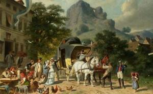 Unterwegs im 18. Jahrhundert