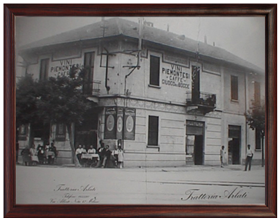 Die Trattoria Arlati in den 1930er Jahren