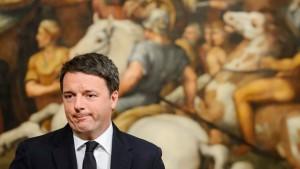 Den Süden vernachlässigt und haushoch verloren - Matteo Renzi nach der Wahl