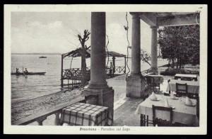 Bracciano in einer historischen Fotografie