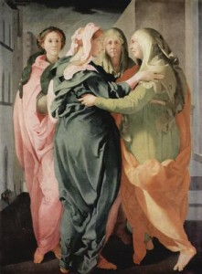 """Jacopo Pontormo """"Heimsuchung"""" (um 1528)"""