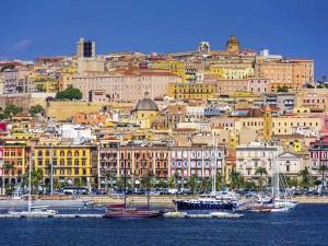 Blick auf Cagliari - In der Regionalhauptstadt von Sardinien feierte der DAV Italien sein zehnjähriges Bestehen