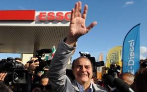 Pier Luigi Bersani alle primarie a Bettola